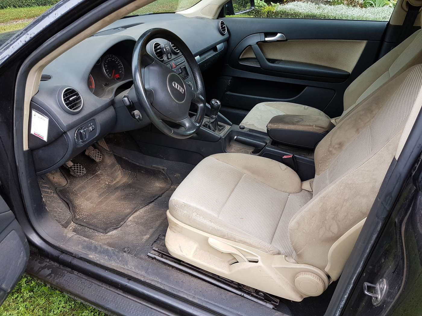 Audi A3 Interieur reiniging | Carclean.com Forum