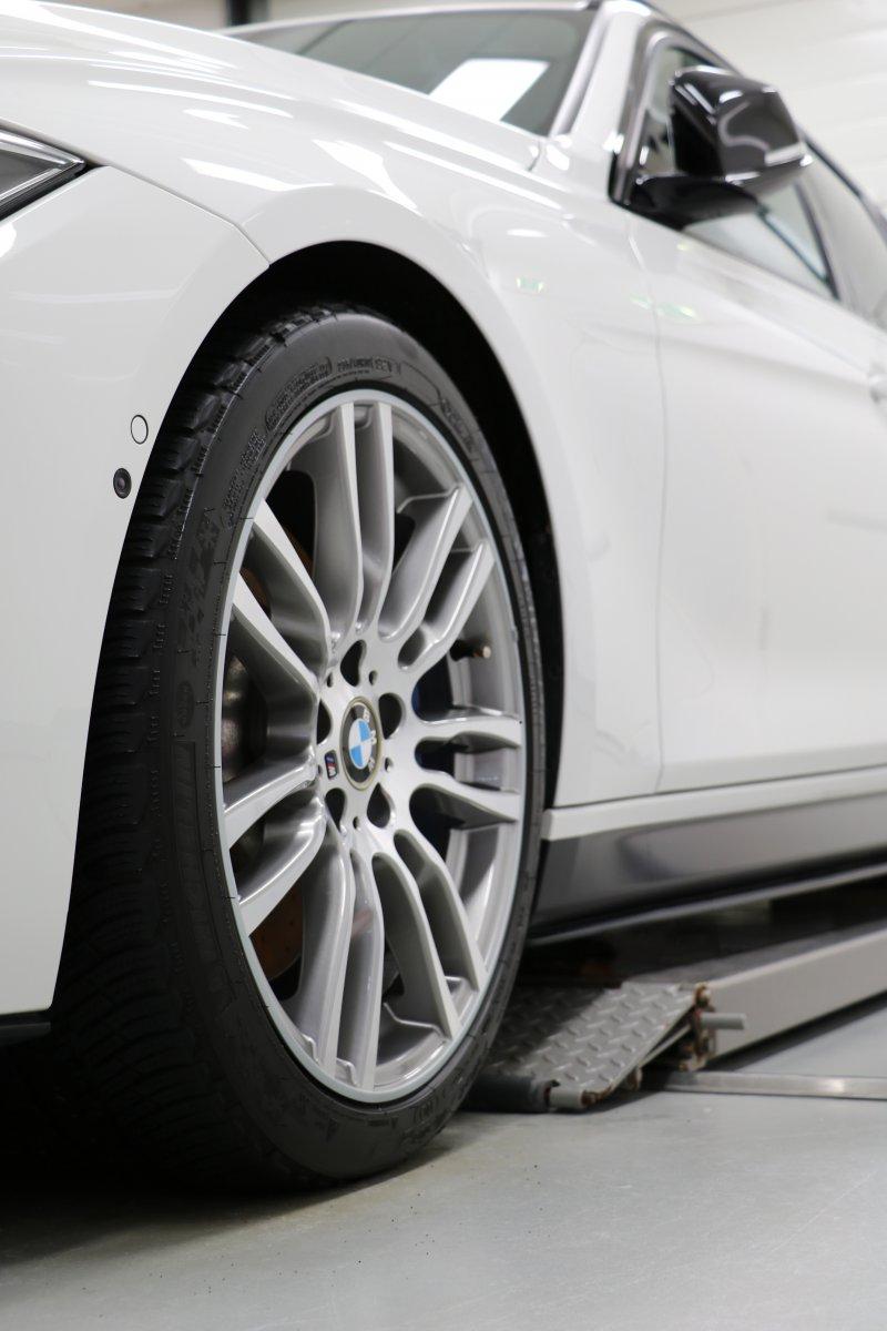 BMW velgen voorzien van Rimsavers velgbescherming