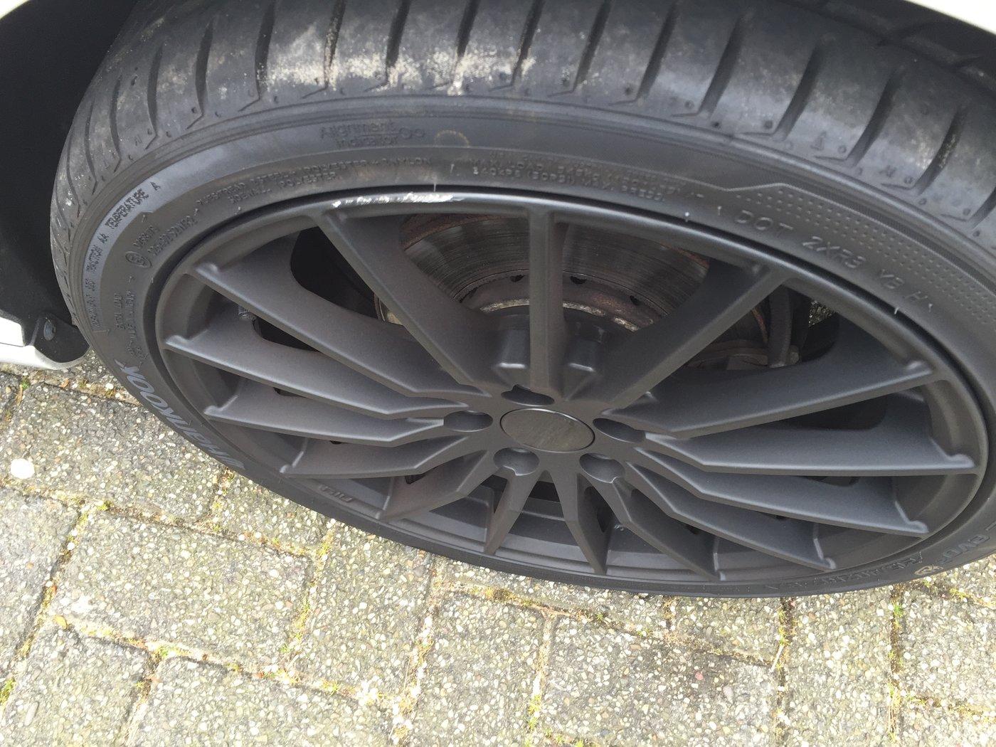 Stoeprandschade Op Nieuwe Mat Zwarte Velgen Carcleancom Forum