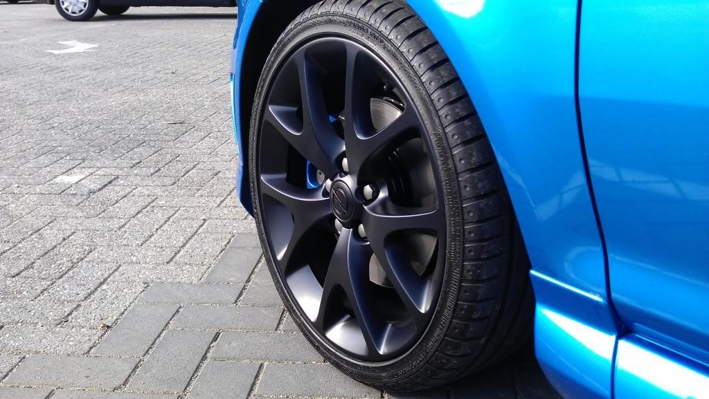 Resten Wheelwax Op Matzwarte Velgen Carcleancom Forum