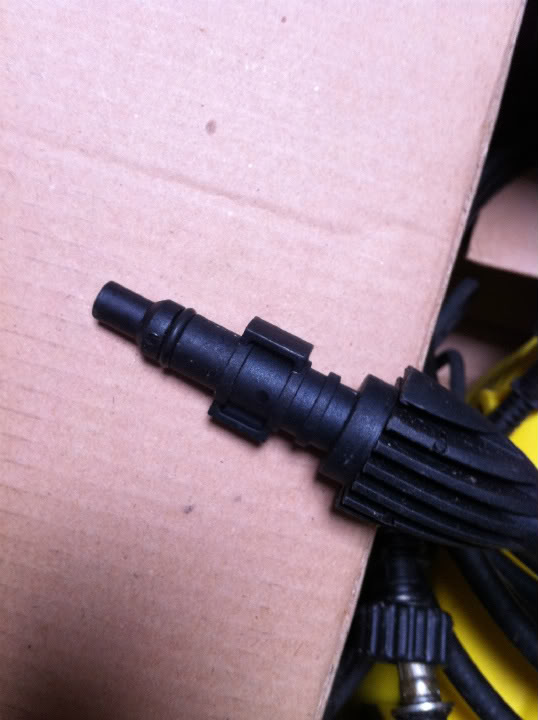 Wonderbaar Foam Kit voor Kinzo-hogedrukreiniger? | Carclean.com Forum CG-52