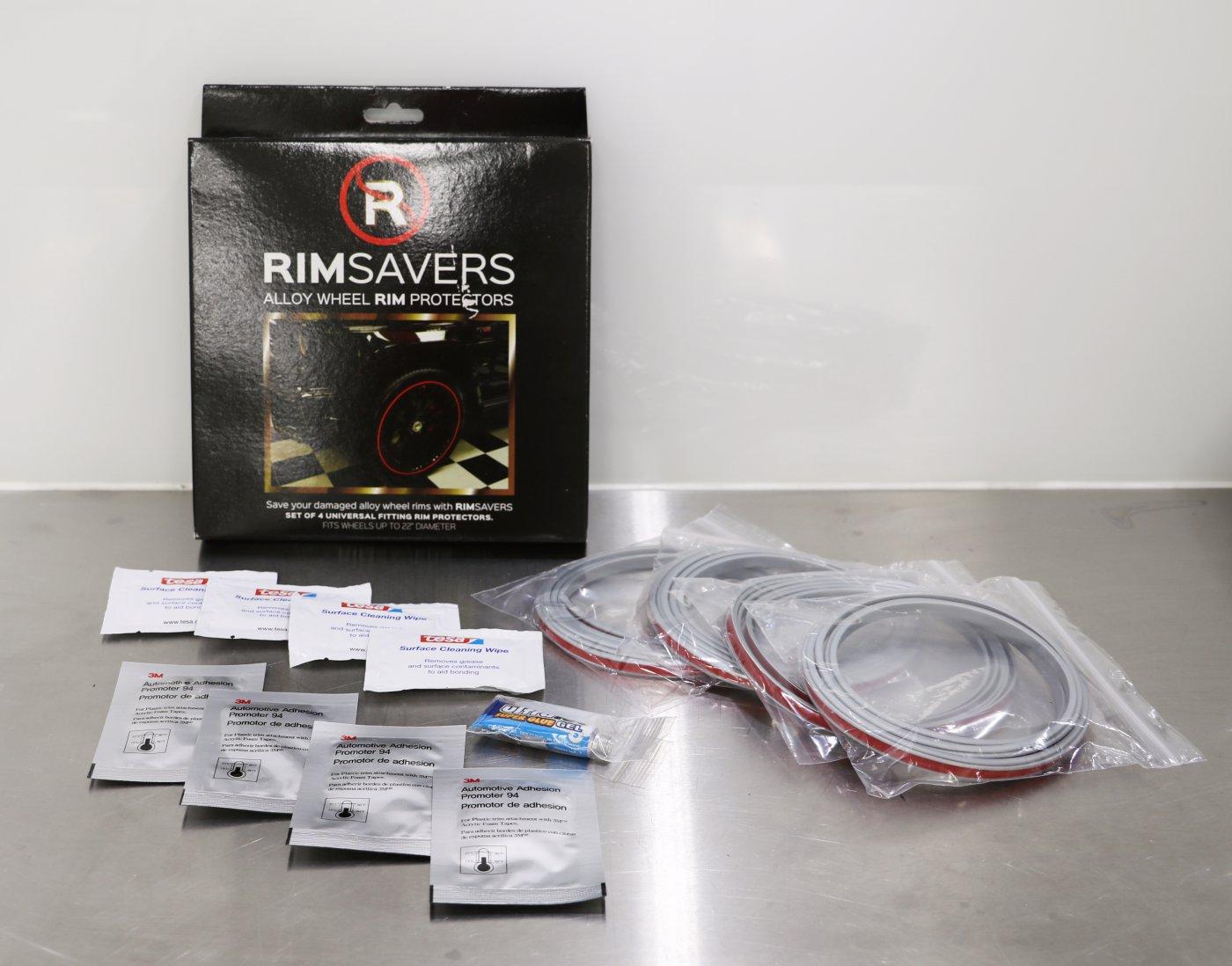 Inhoud Rimsavers velgbescherming verpakking