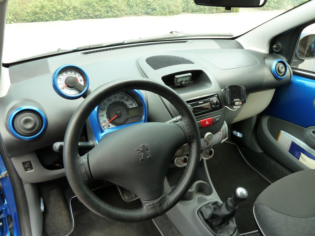 Peugeot 107 forum for Auto interieur accessoires